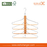 Eishoの卸し売り等級4本の枝が付いている木の動悸のハンガー