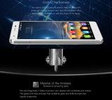 """Oukitel K6000プロLte 4Gの携帯電話32GB 16MP 5.5の""""アンドロイド6.0 Mtk6753 Octaのコア1.3GHz RAM 3GB 6000mAh1920X1080のスマートな電話銀"""