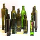 Botella de cristal de cristal 100ml 250ml 500ml 750ml 1000ml del aceite de oliva de la botella del cilindro de la botella de cristal del aceite de oliva de la botella de petróleo