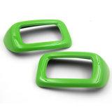 De gloednieuwe ABS Materiële UV Beschermde Groene Dekking van de Veiligheidsgordel van de Stijl van de Kleur AchterVoor Clubman van Mini Cooper F54 (2PCS/Set)