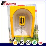 Téléphones à service intensif Téléphone à numérotation téléphonique automatique Tunnel Phone Knsp-10 Kntech