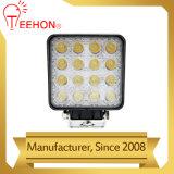 4.5 lámpara campo a través del trabajo del lumen LED de la pulgada 48W 12V alta