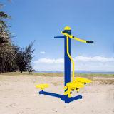 El doble de acero galvanizado columpio infantil gimnasio al aire libre