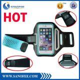 Do suor ao ar livre Ultrathin de Lycra dos acessórios do telefone fita resistente do esporte