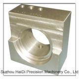 Bloco fazendo à máquina da precisão do alumínio 6061 do CNC da ferragem da divisória do banheiro