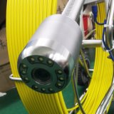 9mm 광섬유 푸시로드 뱀 우물 검사 사진기 Borewell 사진기 V-8 3288