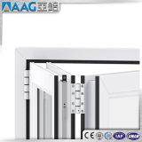 Оптовая алюминиевая нутряная французская дверь складчатости