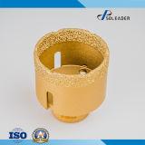 55мм вакуумный спаянного наконечника алмазные сверла ядра для фарфора плиткой и мрамором и конкретных