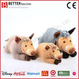아이 장난감에 의하여 채워지는 야생 동물 연약한 장난감 멧돼지 견면 벨벳 돼지