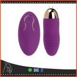 Imperméabiliser l'oeuf à télécommande sans fil d'amour de vibrateur de 10 vitesses pour la femelle