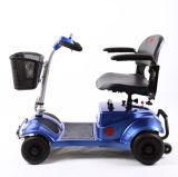 270W gehandicapt het Vouwen van Prijs van de Autoped van Vier Wielen de Elektrische