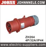 IP44 4p 32A Female Industrial Socket for Industrial