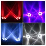 Het nieuwe LEIDENE RGBW van de Aankomst 6*12W 4in1 LEIDENE van het Oog Bewegende HoofdLicht van de Straal