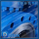 Pn100 Asiento Stellite Didtek GOST 12815-80 Ex. Brida estándar 7 Válvula de compuerta de Rusia con engranaje de tornillo sinfín