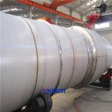 Machine automatique de soudure à coulée circulaire en usine pour réservoirs et chaudières