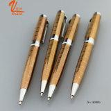 De Pen van de Gravure van Lexury galvaniseert de Gouden Ballpoint van de Kleur verkoopt
