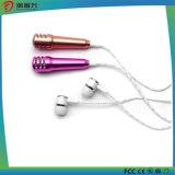 Микрофон стерео Mic способа 3.5mm миниый с наушником для мобильного телефона