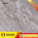 Mosaico de piedra de mármol gris suelos de azulejos de porcelana (66008D)