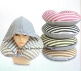 Comodidad y confortable almohada en forma de U con sombrero