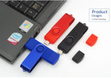 Swivel OTG USB2.0 Flash Drive Pendrive USB Stick 8GB 16GB
