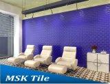 """"""" mattonelle lustrate pianamente di ceramica blu marino del sottopassaggio di lucentezza 3X6"""