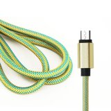 El nilón aisló el cable del USB del relámpago de 8 Pin con la fábrica de China