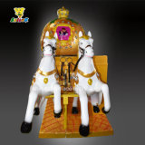 Het koninklijke BinnenMuntstuk van de Rit stelde de Schommeling van de Machine van het Spel van de Rit Kiddie in werking