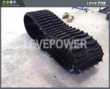 Piste en caoutchouc d'OEM utilisée dans la grande chenille transportant le véhicule