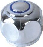 Robinet de la poignée en plastique ABS avec finition chromée (JY-3037)