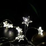 En forme d'étoile à piles Copper Fée Lumière Chaîne avec minuterie