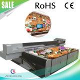 grande imprimante à plat UV des pieds 4X8 pour les carreaux de céramique/acrylique/perspex