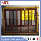 Fenêtre vitrée en aluminium