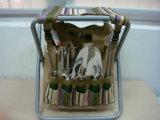 Los kits que cultivan un huerto del Campstool portable pueden ser bolso modificado para requisitos particulares del conjunto de herramienta de jardín de la insignia