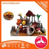Спортивная площадка оборудования театра детей напольная с скольжением