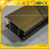 Uitdrijving van het Aluminium van Champagne van de douane de Elektroforese Geanodiseerde voor Furnitures