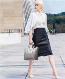 As mulheres Flower designers de moda impresso mala bolsa em pele de ombro