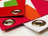 Bandiere su ordinazione del vinile per il contrassegno di pubblicità dell'interno ed esterna