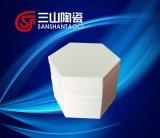 Di ceramica industriale di ceramica del mucchio esagonale dell'allumina