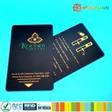 Carte faite sur commande d'hôtel de vitesse normale d'IDENTIFICATION RF du plastique 13.56MHz ISO14443A FUDAN FM08