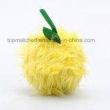 Игрушка формы шарика плюша промотирования новой конструкции горячая продавая симпатичная с вышивкой