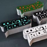 자동 접착 선전용은 어떤 모양든지를 가진 커트 로고 스티커를 정지한다