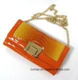 Clutch Wallet, sacchetto della nuova di Croco dell'unità di elaborazione di modo di disegno signora unentesi di spalla