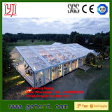 Barraca transparente luxuosa do casamento de 500 povos com telhado desobstruído