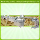 Automatisierungs-Gemüse-und Frucht-waschender Schalen-Ausschnitt, der Verpackungs-Produktionszweig wiegt