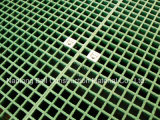 Grilles avec des clips de selle, fibres de verre grincés, grille de plastique renforcé par fibre de verre