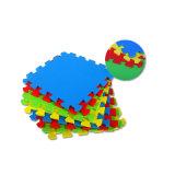 Étage denteux coloré antidérapant de couvre-tapis de puzzle d'EVA EVA pour des bébés fabriqués en Chine