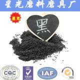 Arena negra de los gránulos del óxido de aluminio de la voladura de arena del surtidor de China