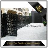 外部の装飾的なレーザーの切口の工場価格のアルミニウム庭の塀のパネル