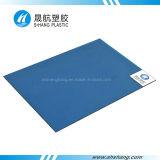 Panneau solide en plastique de toit de polycarbonate résistant aux chocs élevé
