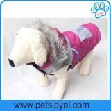 겨울 애완견은 부속 개 재킷을 입는다